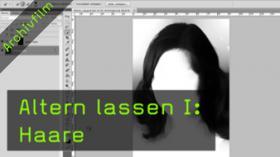 Altern, Haare, Kate Breuer, Photoshop