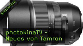 photokinaTV, neues Objektiv von Tamron