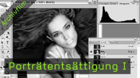 portrait entsättigen photoshop kurs fototv tutorial
