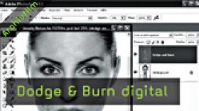 Calvin Hollywood Photoshop Beauty Retusche, Doge Burn Photoshop