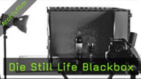Still-Life-Fotografie Blackbox Eigenbau