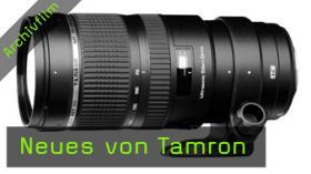 photokinaTV – Neues bei Tamron