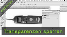 Transparenzen sperren Photoshop PSD