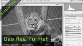 Raw-Format, Photoshop CS5