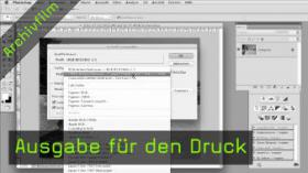 ausgabe, druck