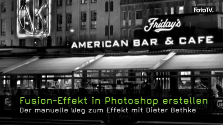 Fusion-Effekt in Photoshop erstellen