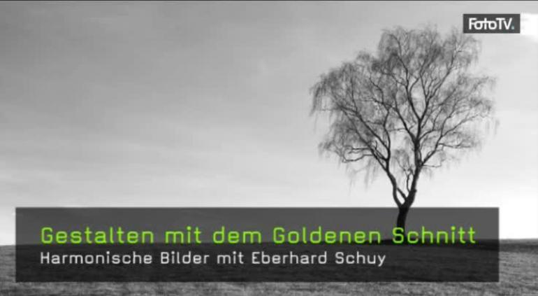 Goldener Schnitt, Goldenes Dreieck, Bildgestaltung