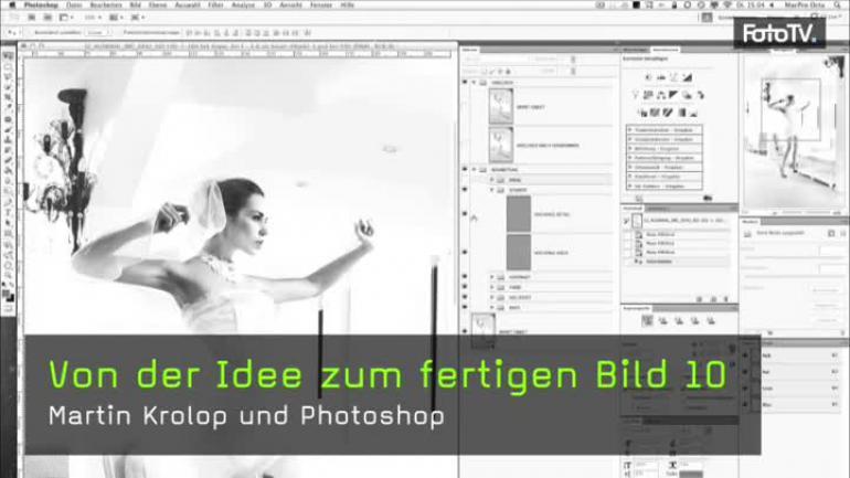 Photoshop-Nachbearbeitung