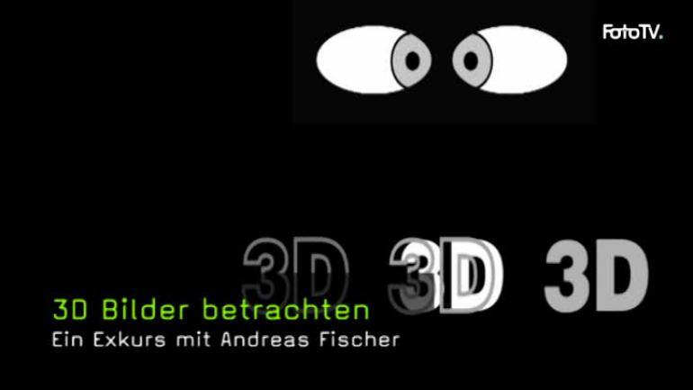 3D, Bildgestaltung, Bildideen, Bildpräsentation, Spezialfotografie