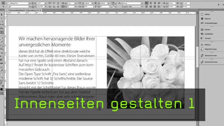 InDesign Tutorial Mit Marianne Deiters