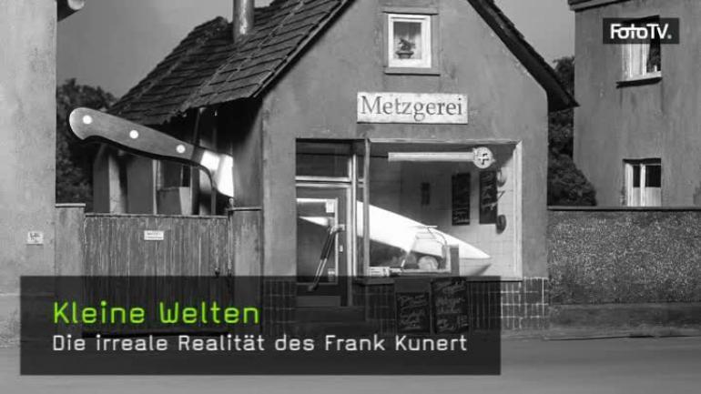 Frank Kunert, Kleine Welten, Modellbau