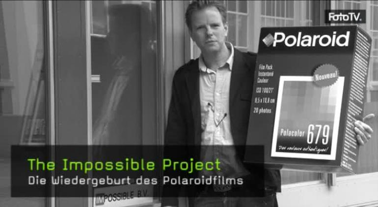 the impossible project film The impossible project (stylized as imꟼossible) is a dutch photography company and manufacturer founded in 2008 by florian kaps, andré bosman and marwan saba it manufactures instant film for select polaroid instant.