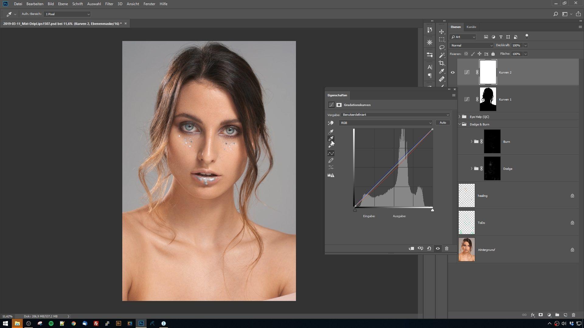 Video-Tutorial, Portrait-Workflow
