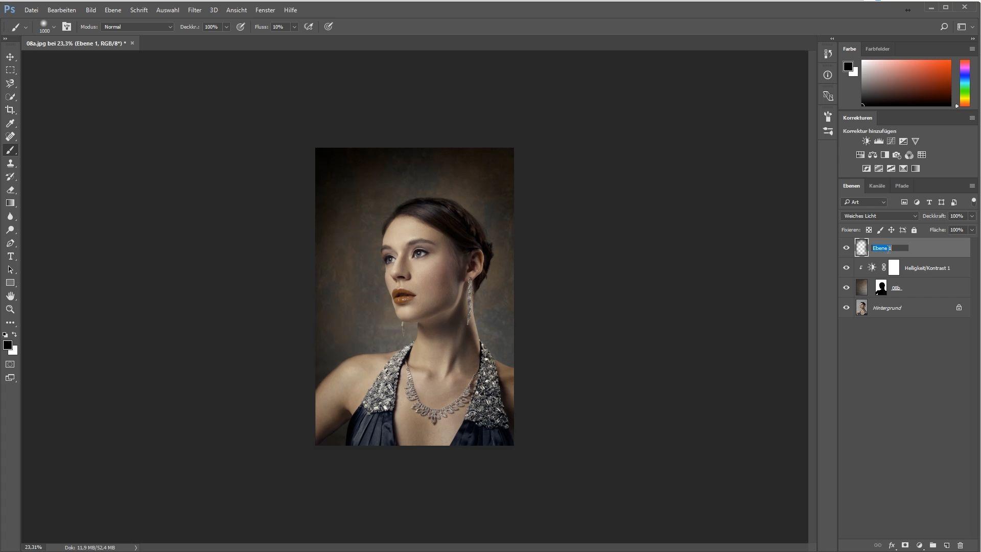Der Einstieg in Photoshop CC
